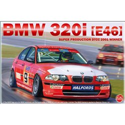 NUNU PN24007 1/24 BMW 320i E46 Super Production DTCC 2001 Winner