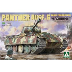 TAKOM 2134 1/35 Panther Ausf.G Early Production with Zimmerit