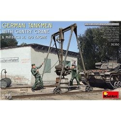 MINIART 35350 1/35 German Tankmen with Gantry Crane