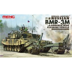 MENG SS-011 1/35 Russian BMR-3M Armored Mine Clearing Vehicle