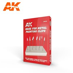 AK INTERACTIVE AK9100 BASE FOR METAL PAINTING CLIPS