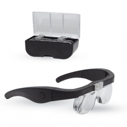 LIGHTCRAFT LC1790USB Pro Led Magnifier Glasses with 4 Lenses