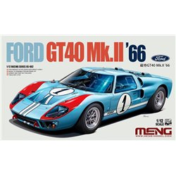 MENG RS-002 1/12 Ford GT40 Mk.II'66