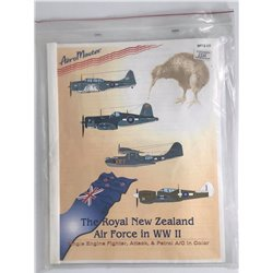 AEROMASTER SP72-10 1/72 The Royal New Zealand Air Force in WW II