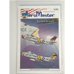 AEROMASTER 48-699 1/48 Post Korean War Sabres Pt.I