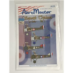 AEROMASTER 48-745 1/48 Sopwith Triplanes at War Pt 1