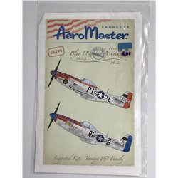 AEROMASTER 48-772 1/48 Blue Diamond Mustangs 356 F.G. Pt. 2