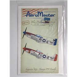 AEROMASTER 48-773 1/48 Blue Diamond Mustangs 356 F.G. Pt. 3