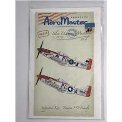 AEROMASTER 48-774 1/48 Blue Diamond Mustangs 356 F.G. Pt. 4