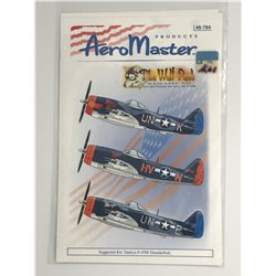 AEROMASTER 48-784 1/48 The Wolf Pack The 56 F.G. in W.W.II Pt.VIII