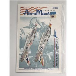 AEROMASTER 48-790 1/48 F-100D SUPER Sabre Part VII