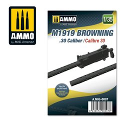 AMMO BY MIG A.MIG-8097 1/35 M1919 Browning. 30 cal