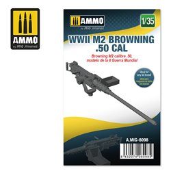 AMMO BY MIG A.MIG-8098 1/35 WWII M2 Browning .50 cal