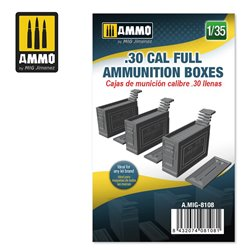 AMMO BY MIG A.MIG-8108 1/35 .30 CAL FULL AMMUNITION BOXES