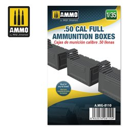 AMMO BY MIG A.MIG-8110 1/35 .50 CAL FULL AMMUNITION BOXES