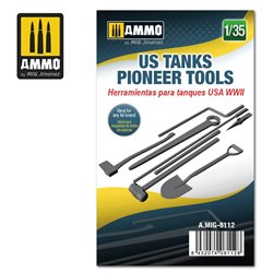 AMMO BY MIG A.MIG-8112 1/35 US WWII Tank Pioneer Tools