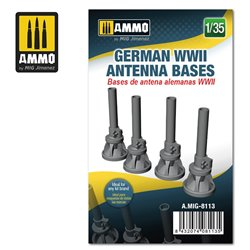 AMMO BY MIG A.MIG-8113 1/35 German WWII Antenna Bases