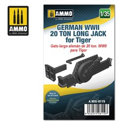 AMMO BY MIG A.MIG-8119 1/35 German WWII 20 ton Long Jack for Tiger
