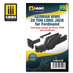 AMMO BY MIG A.MIG-8120 1/35 German WWII 20 ton Long Jack for Ferdinand