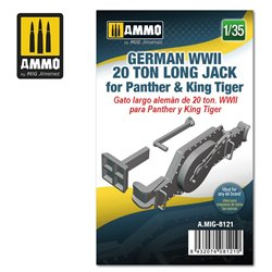 AMMO BY MIG A.MIG-8121 1/35 German WWII 20 ton Long Jack for Panther & King Tiger