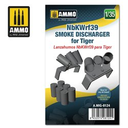 AMMO BY MIG A.MIG-8124 1/35 NbKWrf39 Smoke Discharged for Tiger