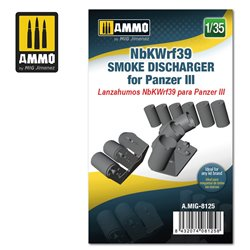 AMMO BY MIG A.MIG-8125 1/35 NbKWrf39 Smoke Discharged for Panzer III