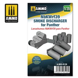 AMMO BY MIG A.MIG-8128 1/35 NbKWrf39 Smoke Discharged for Panther
