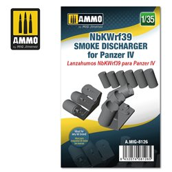 AMMO BY MIG A.MIG-8126 1/35 NbKWrf39 Smoke Discharged for Panzer IV