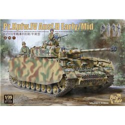 BORDER MODEL BT-005 1/35 Pz.Kpfw.IV Ausf.H Early/Mid