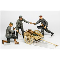 COPPER STATE MODEL F32006 1/32 German aerodrome personnel ordnance team with cart