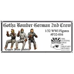 COPPER STATE MODEL F32016 1/32 Gotha bomber german 2nd crew
