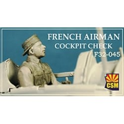 COPPER STATE MODEL F32045 1/32 French Airman
