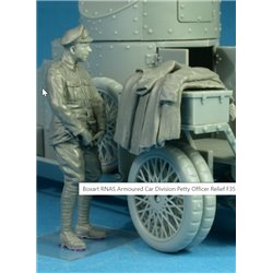 COPPER STATE MODEL F35009 1/35 RNAS Armoured Car Division Petty Officer Relief