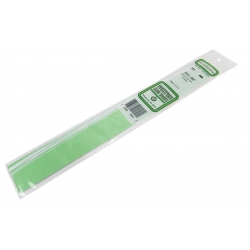 EVERGREEN EG101 0.25 x 0.75 mm Rectangular Section 10 Strips