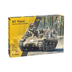 ITALERI 6580 1/35 M7 Priest Howitzer Motor Carriage