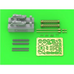 MASTER MODEL AM-32-121 1/32 Spandau LMG 08/15 (2 pcs)