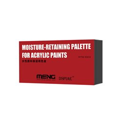 MENG MTS-024 Moisture-Retaining Palette for Acrylic Paints