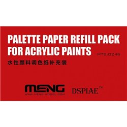 MENG MTS-024a Palette Paper Refill Pack