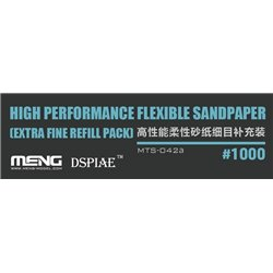 MENG MTS-042a High Performance Flexible Sandpaper (Extra Fine Refill Pack/1000#)