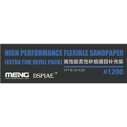 MENG MTS-042b High Performance Flexible Sandpaper (Extra Fine Refill Pack/1200#)