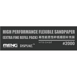 MENG MTS-042d High Performance Flexible Sandpaper (Extra Fine Refill Pack/2000#)