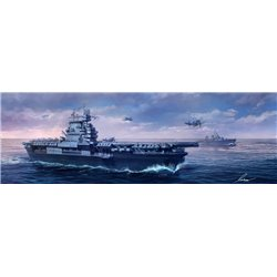 MENG PS-005 1/700 U.S. Navy Aircraft Carrier U.S.S. Enterprise (CV-6)