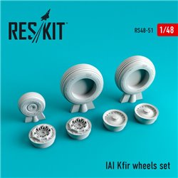 RESKIT RS48-0051 1/48 IAI Kfir wheels set