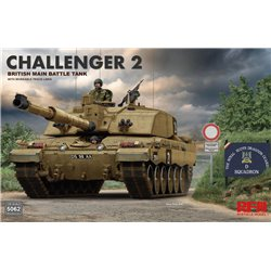 RYE FIELD MODEL RM-5062 1/35 Challenger 2 with workable track links