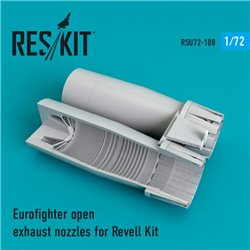 RESKIT RSU72-0108 1/72 Eurofighter open exhaust nozzles for Revell
