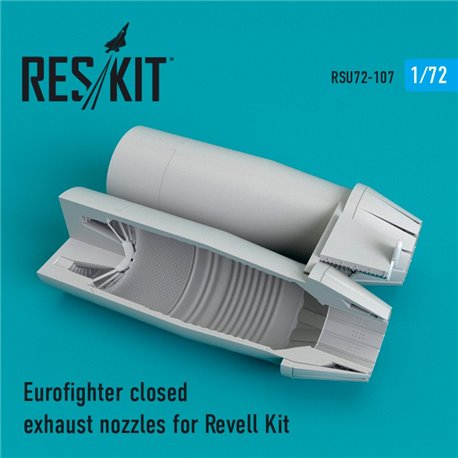 RESKIT RSU72-0107 1/72 Eurofighter closed exhaust nozzles for Revell