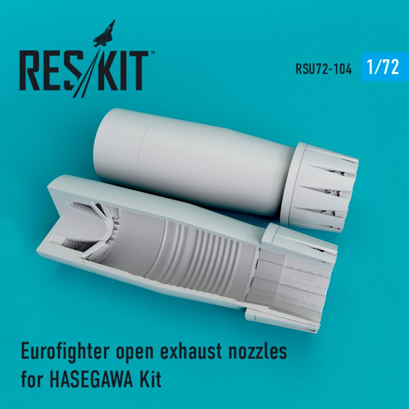 ResKit RSU72-0103 F-15 I//K open exhaust nozzles for GWH 1//72