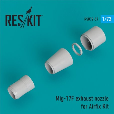 RESKIT RSU72-0057 1/72 Mig-17F exhaust nozzle for Airfix Kit