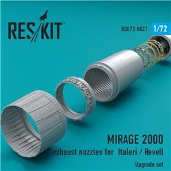 RESKIT RSU72-0021 1/72 MIRAGE 2000 exhaust nozzles for Italeri / Rev