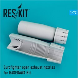 RESKIT RSU72-0106 1/72 Eurofighter open exhaust nozzles for HASEGAWA